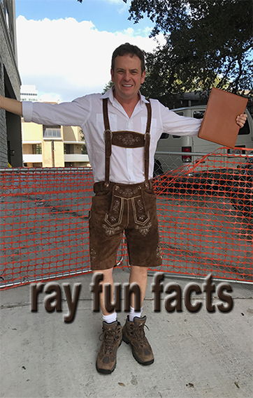 Ray Fun Facts